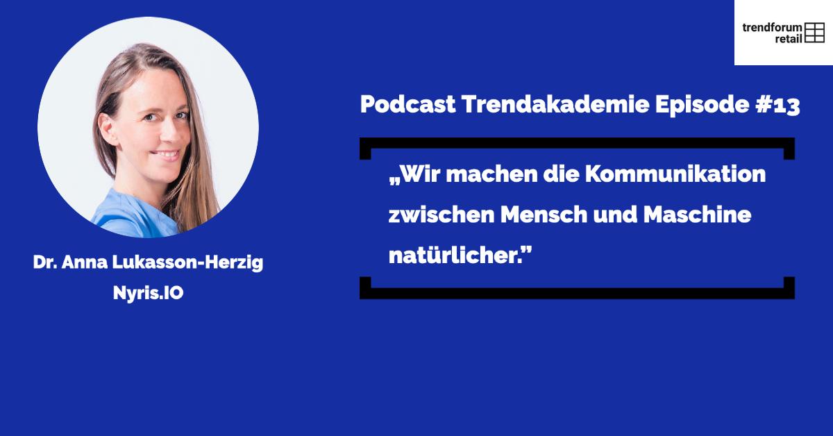 Podcast TFR Akademie - Episode 13: